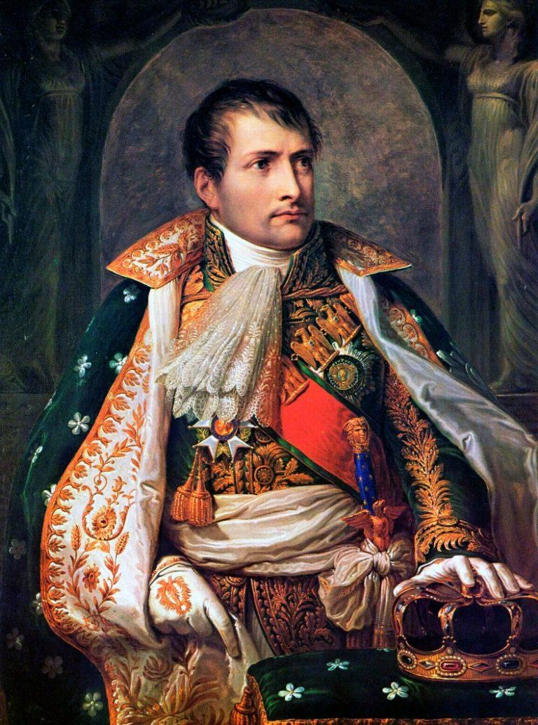 «Наполеон коронован королём Италии 26 мая 1805 в Милане» (1805)