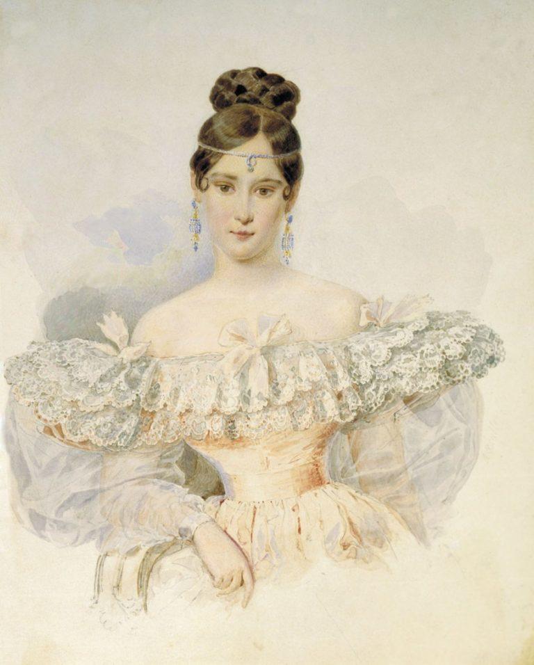 Наталья Николаевна Гончарова (1812 – 1863)
