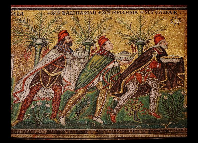 Мозаика церкви Сант-Аполлинаре-Нуово