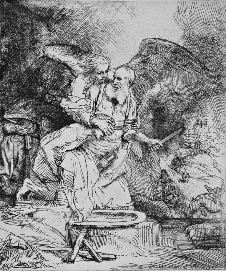 Жертвоприношение Авраама (1655)