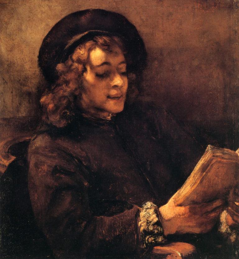 Читающий Титус (1656)