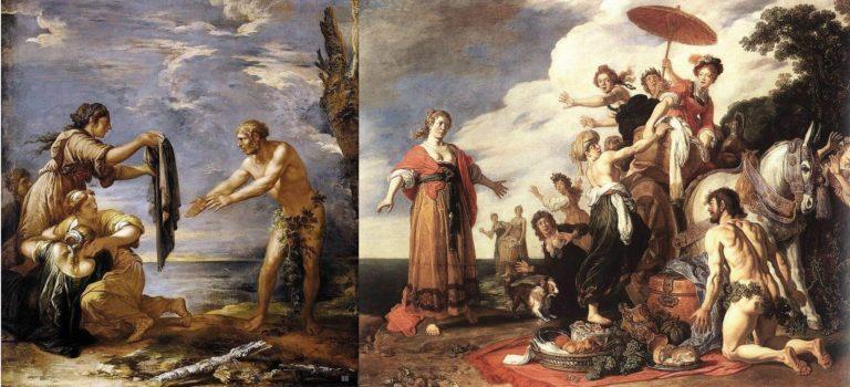 Картины Сальватор Роза и Питера Ластамана