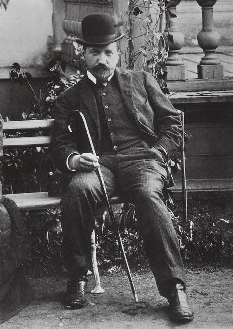 Валентин Серов в 1905 году