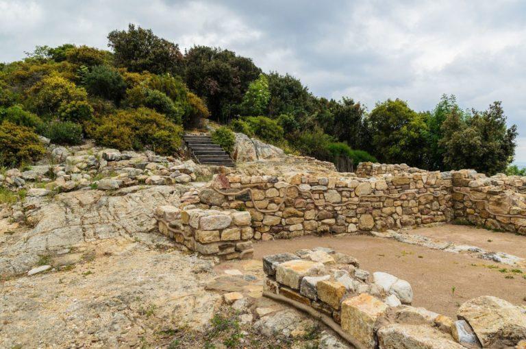 Руины древней Стагиры