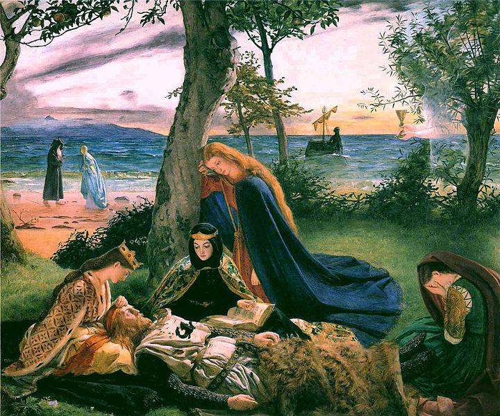 Смерть короля Артура (1860)
