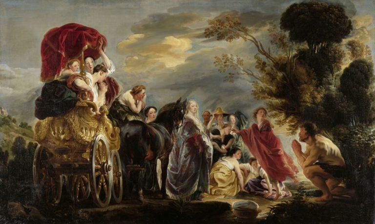 Встреча Одиссея и Навсикаи