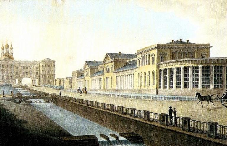 Царское Село, Садовая улица