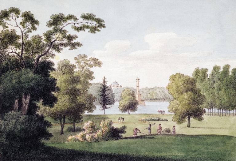 Царскосельский парк (1821–1822)