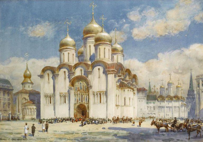 Успенский собор в XIX веке