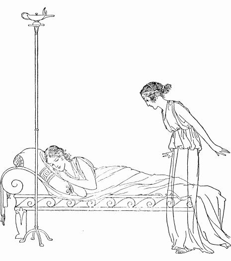 Афина и Навсикая