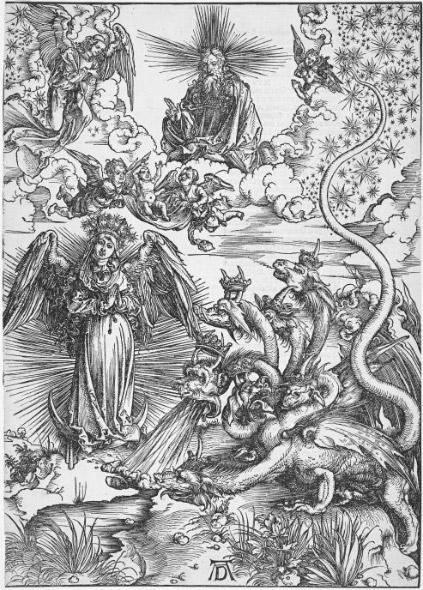 Жена, облаченная в солнце (1498)