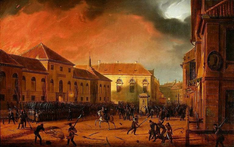 «Взятие арсенала в Варшаве» (1831)