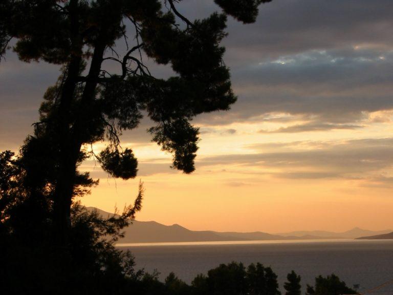 Закат на о. Эвбея