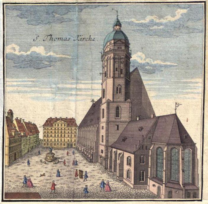 Церковь св. Фомы в Лейпциге