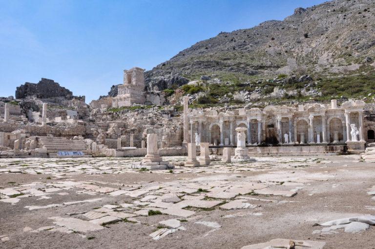 Агора античного города Сагалассос