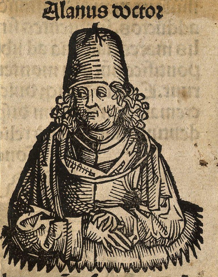 Алан Лилльский (фр. Alain de Lille, лат. Alanus ab Insulis; ок. 1128 – 1202-1203)