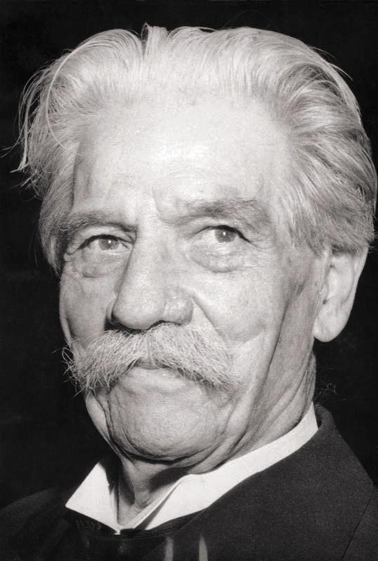 Альберт Швейцер (нем. Albert Schweitzer; 1875 — 1965)