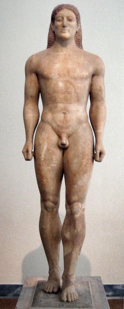 Анависский курос (ок. 530 г. до н.э.)