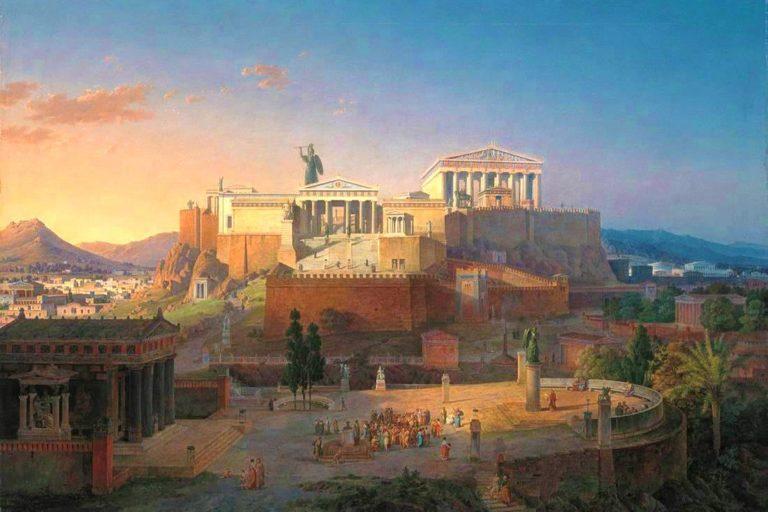 Афинский акрополь классического периода (V – IV вв. до н.э.)