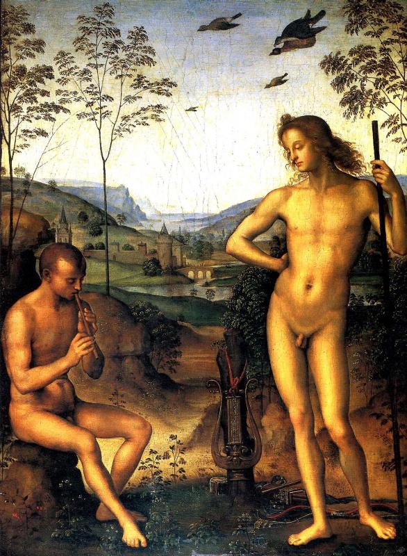 Аполлон и Марсий. 1495