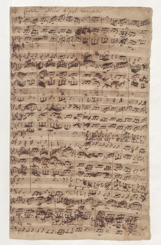 BWV 170. No 1. Ария