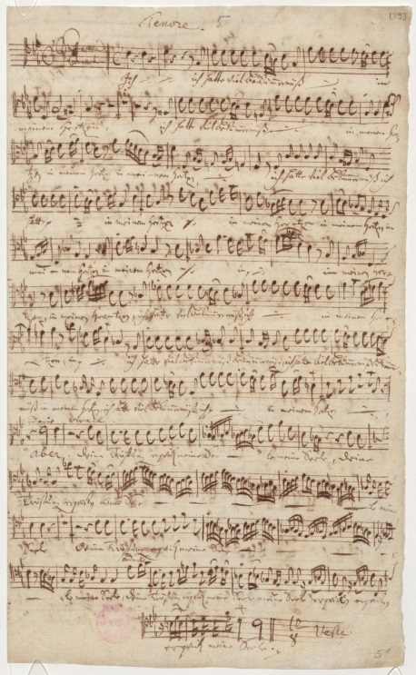 BWV 21. Партия тенора. Ария