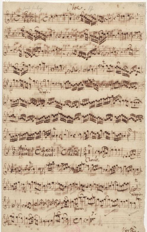 BWV 21. Партия гобоя
