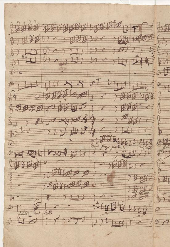 BWV 75. Ария баса (№ 12)