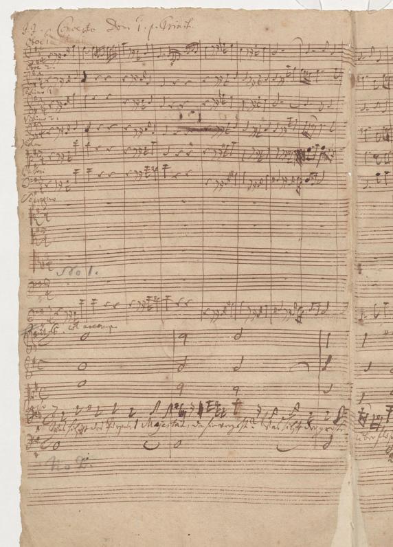 BWV 75. Хор (№ 1)