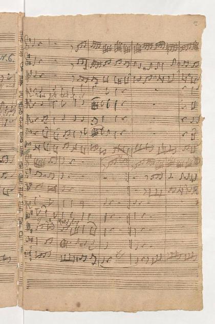 BWV 75. Хорал (№ 7). Вступление хора