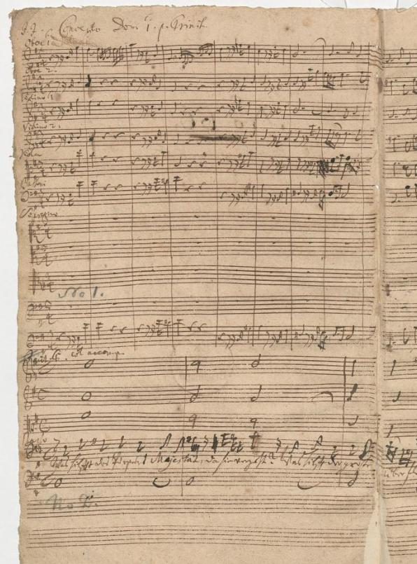 BWV 75. Начальный хор
