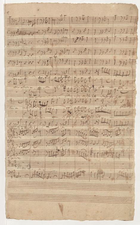 BWV 75. Партия тенора