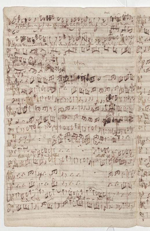 BWV 76. Ария альта (№ 12)