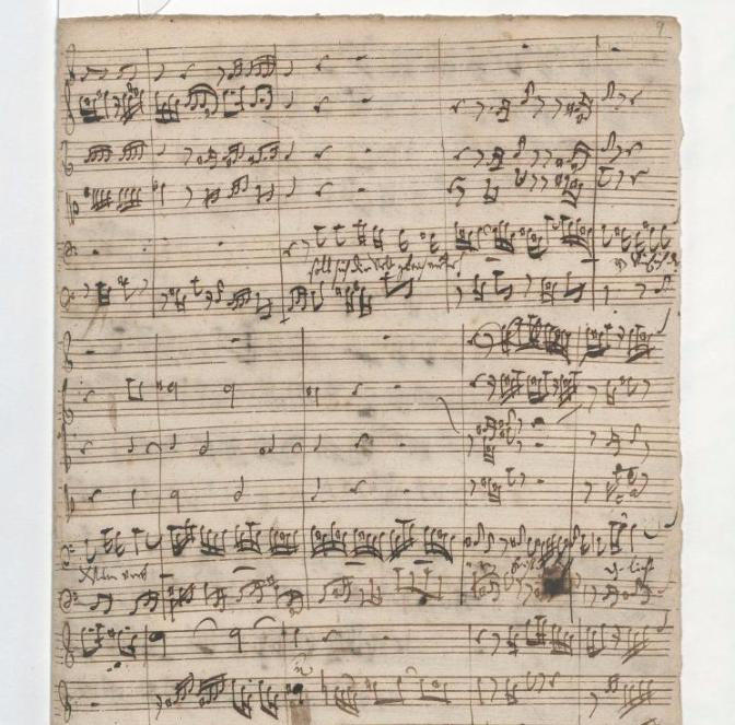 BWV 76. Ария баса (№ 5)