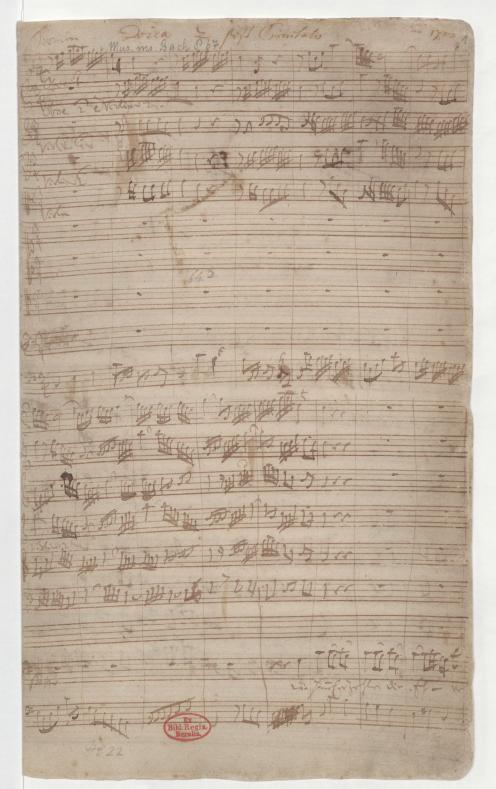 BWV 76. Начальный хор