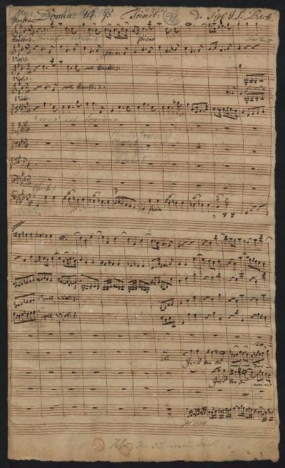 BWV 78. № 1. Хор