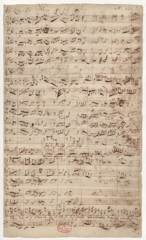 BWV 81. Ария альта