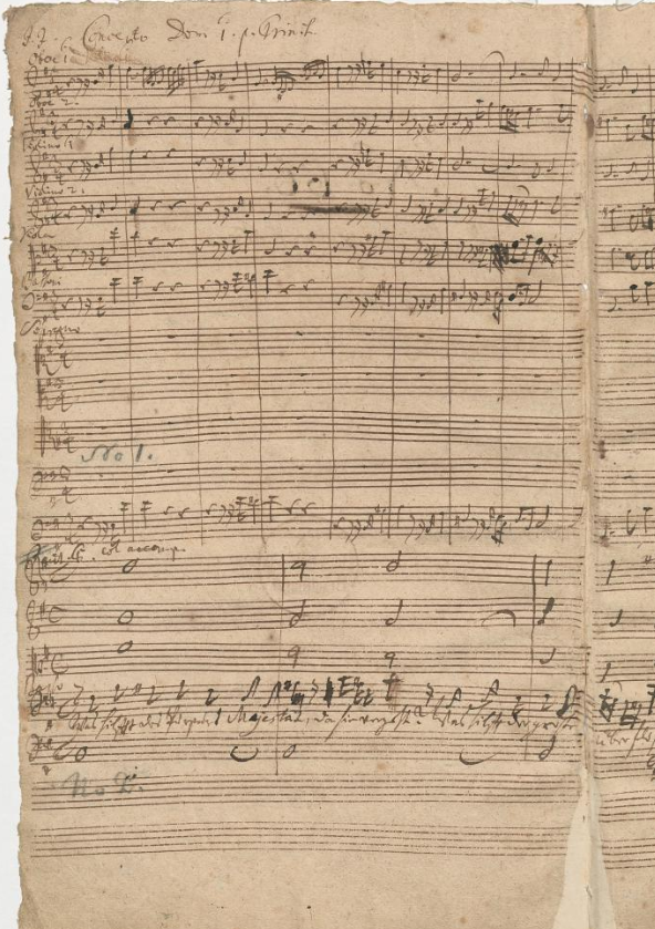 BWV 75. Партия хора