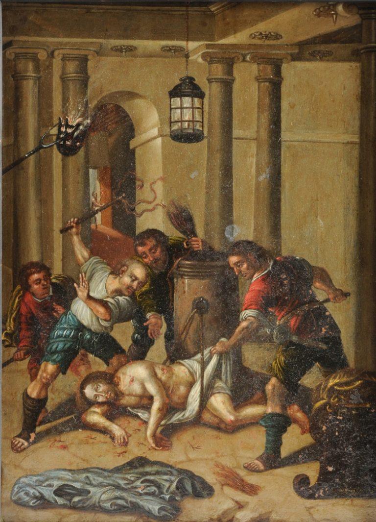 «Бичевание Христа» (1672)