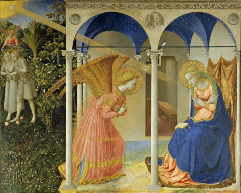 Благовещение Пресвятой Богородицы. 1430-1432