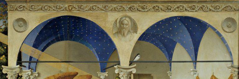 Благовещение Пресвятой Богородицы. Деталь (арки). 1430-1432
