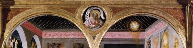 Благовещение. Деталь (барельеф). 1430-е гг.