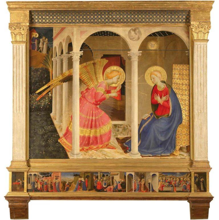 Благовещение. между 1433 и 1434 гг.