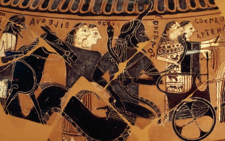 Божество Океан (580-570 гг. до н.э.)