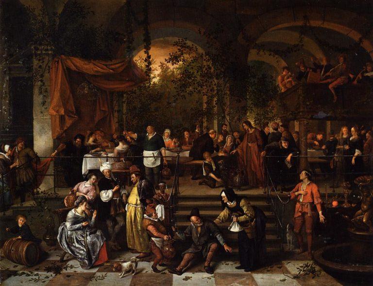 «Брак в Кане Галилейской» (1670-167)