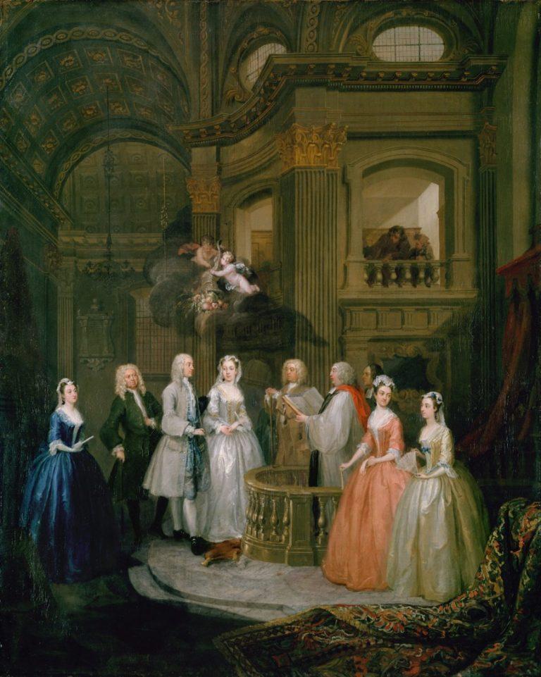 «Бракосочетание Стивена Бекингема и Мери Кокс» (1729)