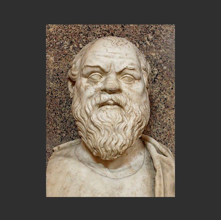 Бюст Сократа
