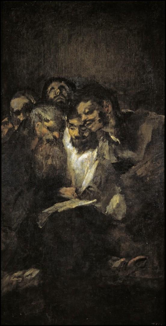 «Чтение или политики» (1821–1823)
