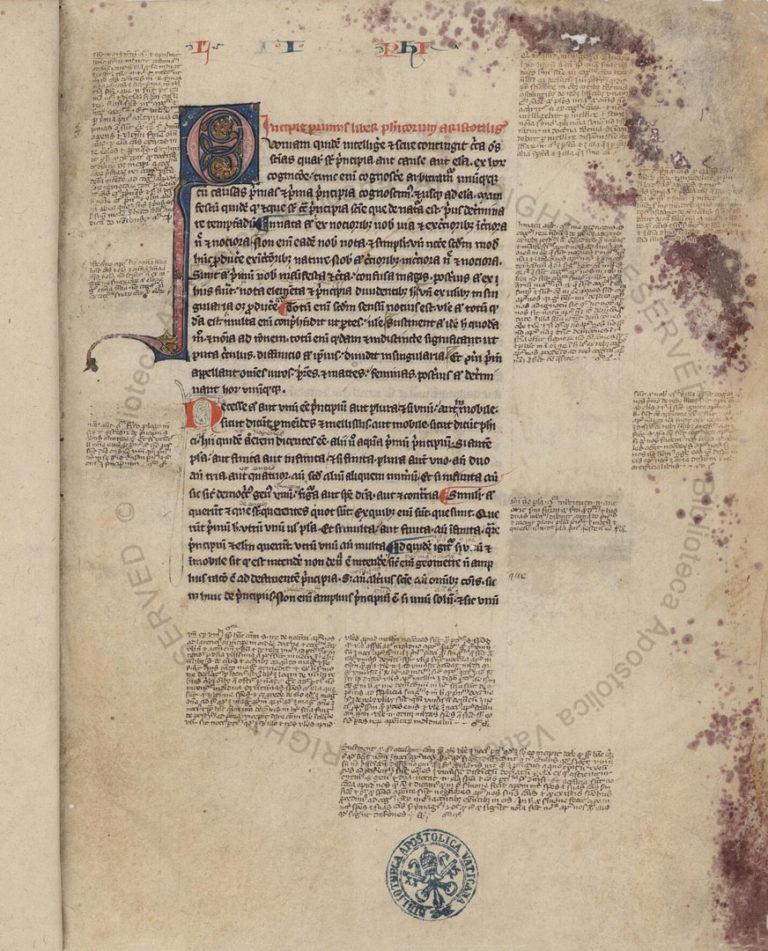 Комментарии Аверроэса (1126 – 1198) к работе «О долготе и краткости жизни» Аристотеля в латинском переводе