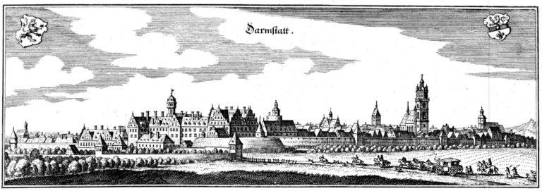 Дармштадт в 1655 году